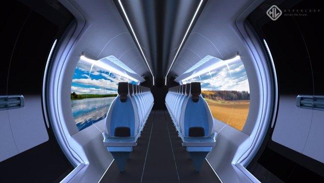 """Foto: El primer prototipo español del """"tren del futuro"""" viaja a EEUU para completar su desarrollo ( HYPERLOOP UPV)"""