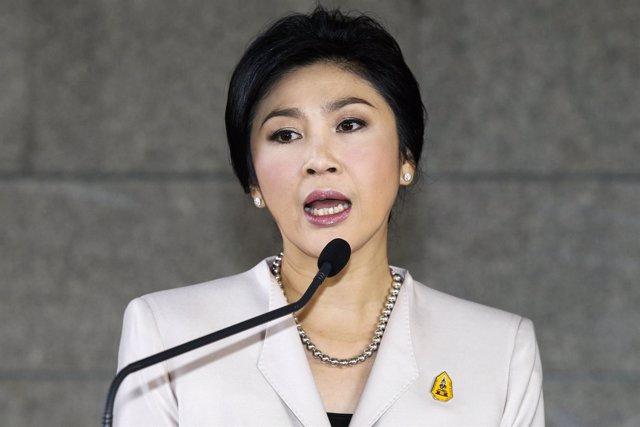 Primera ministra de Tailandia, Yingluck Shinawatra