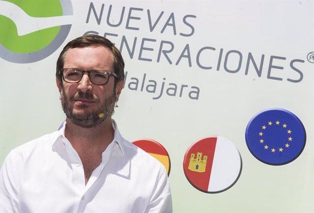 Javier Maroto en un acto de NNGG en Atienza (Guadalajara)