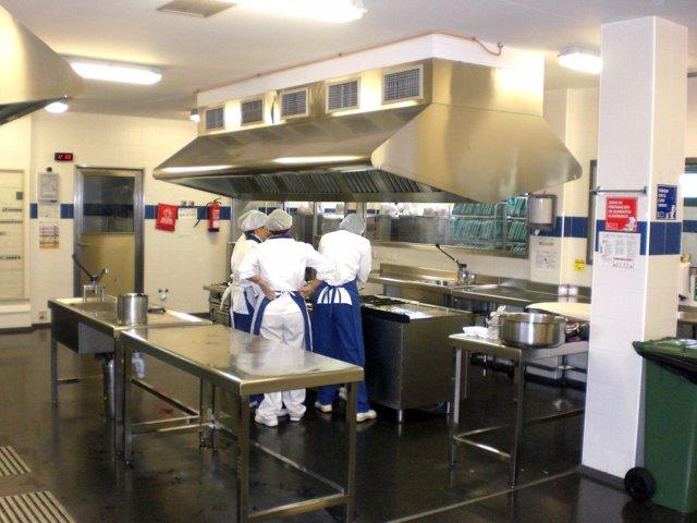 Cocinas del Hospital Molina Orosa de Lanzarote