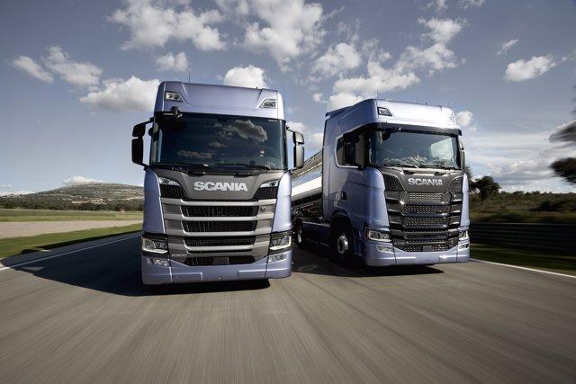 Nuevos camiones de Scania