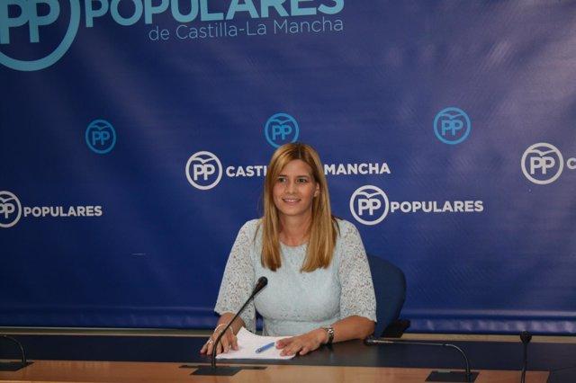 Gpp Clm (Cortes De Voz Y Fotografía) La Diputada Regional, Carolina Agudo, En Ru