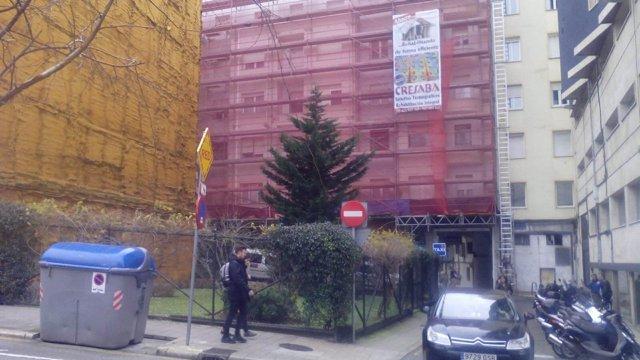 Solar de la calle La Paz