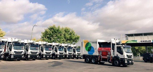 La nueva flota de vehículos de EMAYA