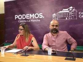 Los inscritos de Podemos C-LM aprueban con el 78% que la formación entre en el Gobierno del PSOE