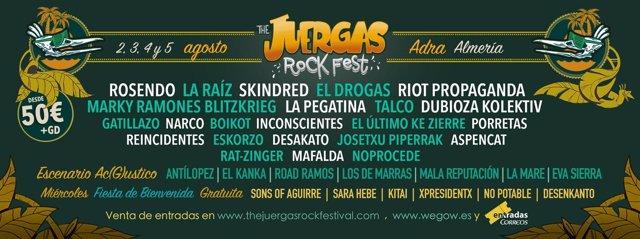 THE JUERGAS ROCK FESTIVAL