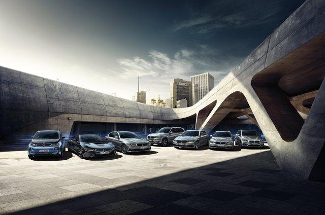 Gama electrificada de BMW