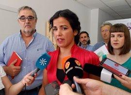 """Teresa Rodríguez pide la dimisión de Nieto y acusa al PP de """"consolidarse como una organización para delinquir"""""""