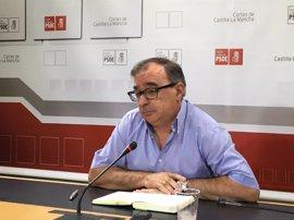 """El PSOE afirma que la entrada de Podemos al Gobierno da """"la estabilidad necesaria"""" a Castilla-La Mancha"""