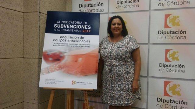 Dolores Amo pesenta la nueva líneas de subvenciones