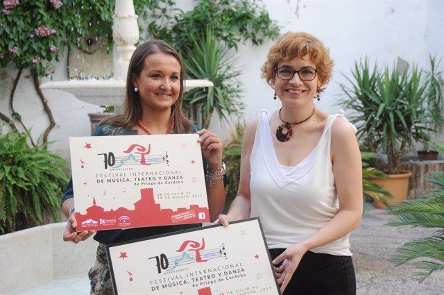 Ruz (dcha.) y Bermúdez presentan el 70ª Festival Internacional
