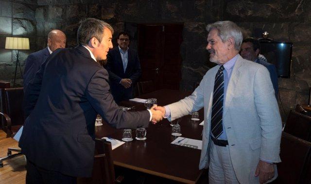 Gobierno De Canarias Y La Oei Colaborarán En Fortalecer El Conocimiento Y La Int