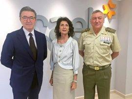 CAEB, Tressis y Comandancia destacan el valor profesional de los militares que dejan el ejército al cumplir 45 años