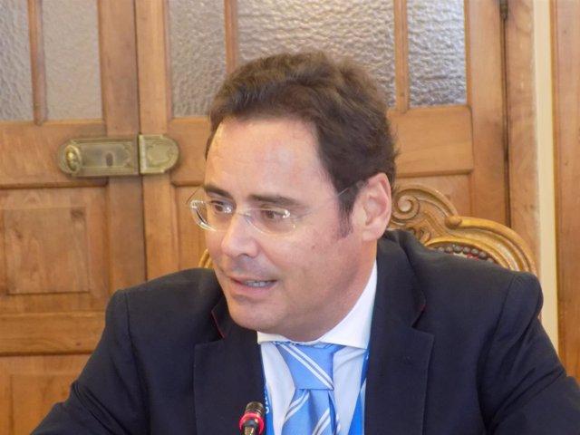 El secretario de Estado para la UE, Jorge Toledo Albiñana