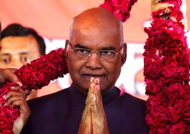 Ram Nath Kovind, nuevo presidente de India