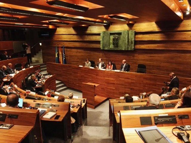 Peñalver en la Conferencia de las Asambleas legislativas regionales de Europa