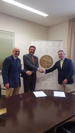Ancce y Fibes firman un acuerdo de colaboración.