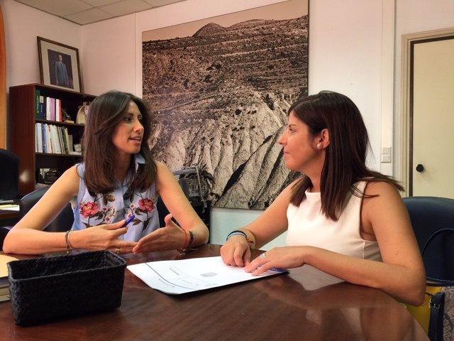 Carmen Bélez López y Mónica Navarro, han planteado acciones concretas.