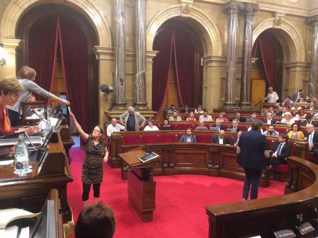 Votación para la elección del vicepresidente del Parlament