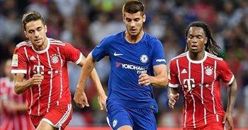 Morata debuta en el Chelsea con derrota ante el Bayen