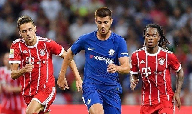 Morata en el Chelsea - Bayern