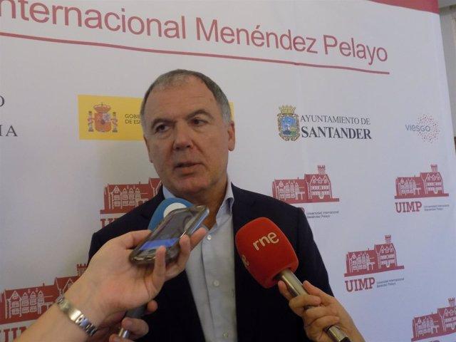 Declaraciones de Vidal de la Peña en la UIMP