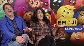 """Mario Vaquerizo es la 'caca' de Emoji: La Película: """"Los emoticonos son un lenguaje propio"""""""
