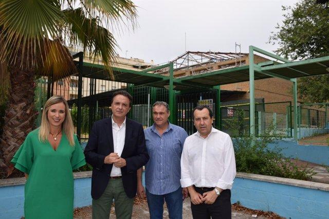 Ruiz Espejo, Alba, Ortiz en instituto de Torremolinos. Retirada amianto