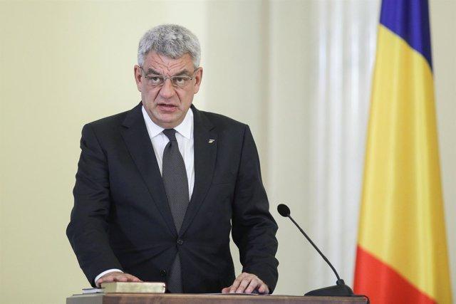 El primer ministro de Rumanía, Mihai Tudose