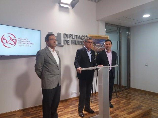 El alcalde de Fuenteheridos, José Antonio Cortés, presenta jornadas patrimoniale