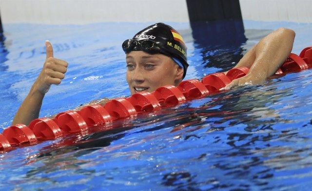 Mireia Belmonte en los Juegos de Río