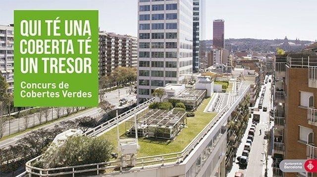 Concurso de cubiertas verdes de Barcelona