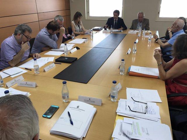 Imagen de la reunión del Patronato Ramón Gaya