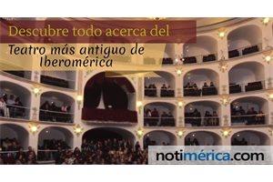 ¿Sabes dónde se encuentra el teatro más antiguo de Iberoamérica?