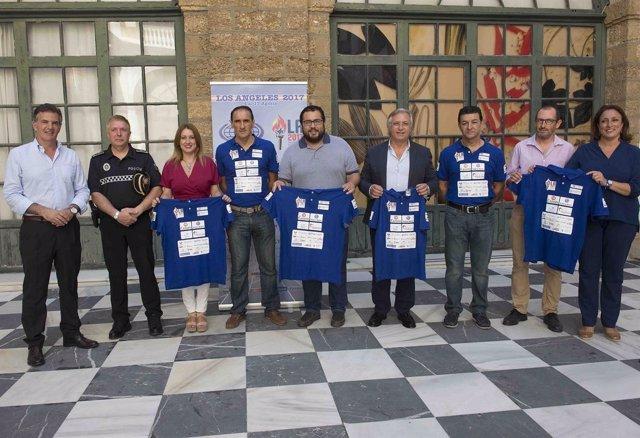 Miembroas de Sherrypol eb ka Diputación de Cádiz