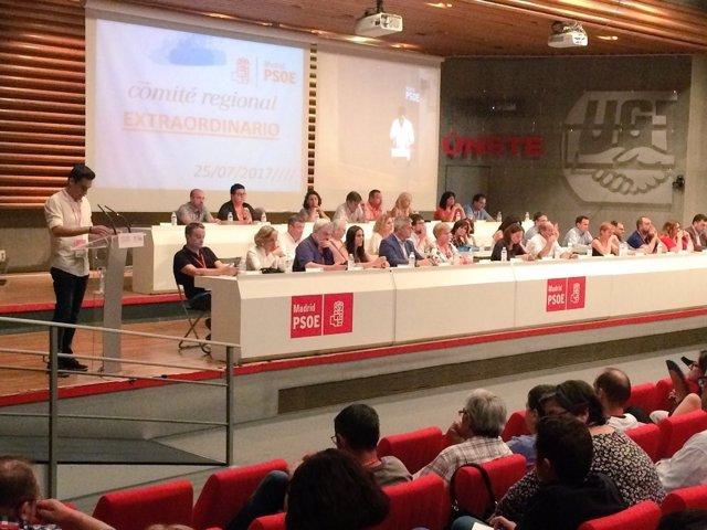 Comité Regional PSOE-M