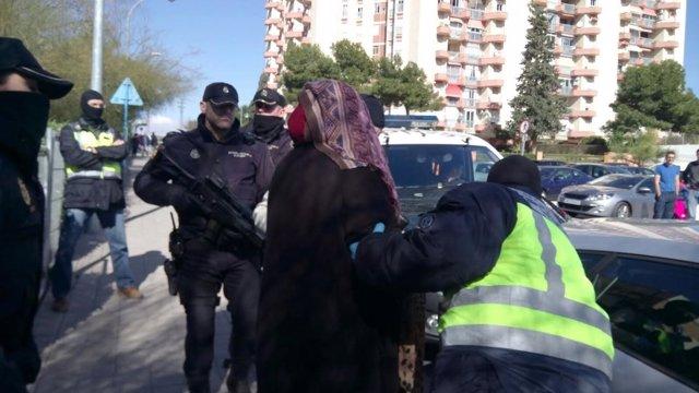 La Policía detiene en Alicante a la presunta yihadista Dolores Hidalgo