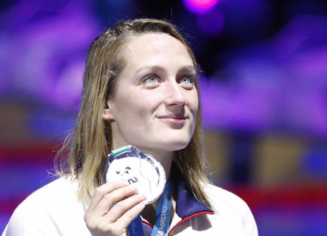Mireia Belmonte, plata mundial en 1.500 metros en Budapest