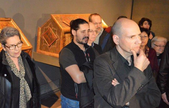 La plataforma de entidades culturales de Lleida en el Museu de Lleida