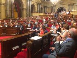 JxSí i la CUP preveuen registrar la llei del referèndum en el Parlament el divendres o el dilluns (EUROPA PRESS)