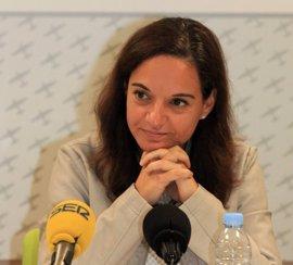 """Sara Hernández defiende un proyecto """"intergeneracional"""" y cree que su apoyo a Patxi López en primarias no le penaliza"""