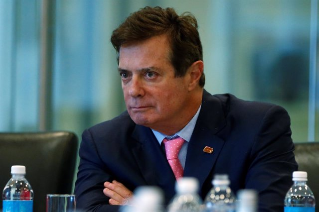 El exdirector de campaña de Trump Paul Manafort