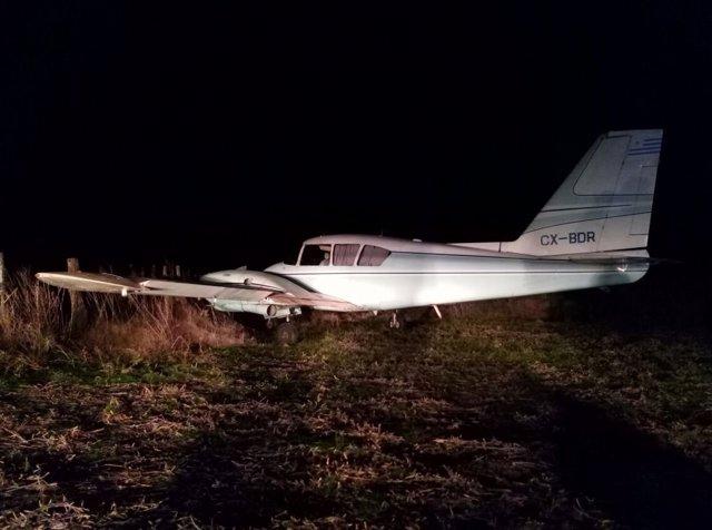 Avioneta narco detienen piloto