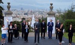 Puigdemont proposa presentar una candidatura per organitzar els Jocs Olímpics d'Hivern (EUROPA PRESS)