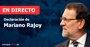 Foto: Declaración de Rajoy   Directo:  Así te hemos contado la declaración de Rajoy