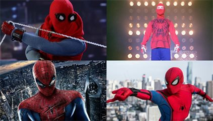 Los 12 trajes de Spiderman vistos en pantalla, del peor al mejor