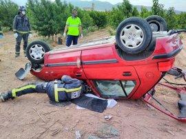 Muere un joven en Jumilla tras chocar un turismo y un camión