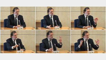 Las respuestas de Rajoy en el juicio de Gürtel, ordenadas por bloques