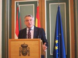 """De Andrés destaca """"la labor preventiva"""" que las FSE desarrollan para detener a terroristas yihadistas en Euskadi"""