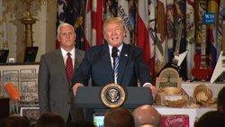 Trump anuncia que l'Exèrcit d'EUA no acceptarà transgèneres (EUROPAPRESS)
